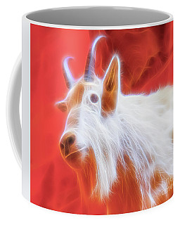 Spectral Mountain Goat Coffee Mug