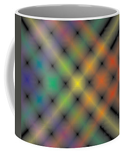 Spectral Shimmer Weave Coffee Mug by Kevin McLaughlin