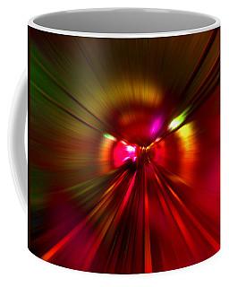 Speed - Metro Subway Train Coffee Mug