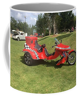 Coffee Mug featuring the photograph Speed Racer Trike by Aaron Martens