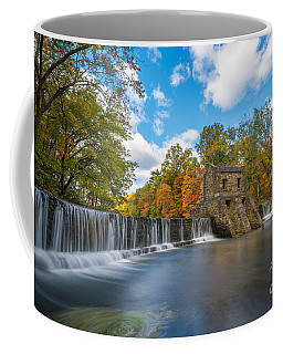Speedwell Dam Fall Foliage Coffee Mug