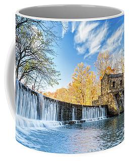 Coffee Mug featuring the photograph Speedwell Dam Waterfall by Mihai Andritoiu