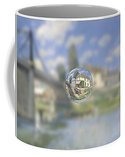 Sphere 18 Sisley Coffee Mug by David Bridburg