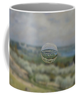 Sphere 24 Sisley Coffee Mug by David Bridburg