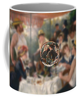 Sphere 4 Renoir Coffee Mug by David Bridburg