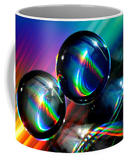 Spheres Coffee Mug by Sylvie Leandre