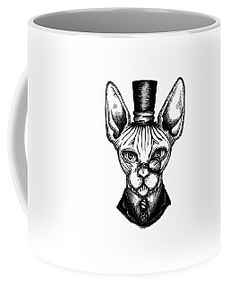 Sphynx Gentleman Coffee Mug