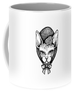 Sphynx Lady Coffee Mug