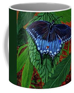 Spicebush Swallowtail Coffee Mug by Susan Duda