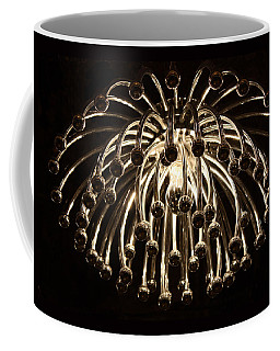 Coffee Mug featuring the photograph Spider Light by Kristin Elmquist
