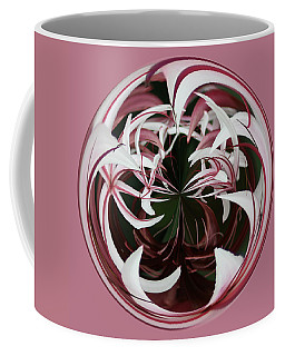 Coffee Mug featuring the photograph Spider Lily Orb by Bill Barber