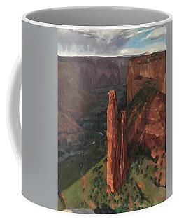 Spider Rock, Canyon De Chelly Coffee Mug