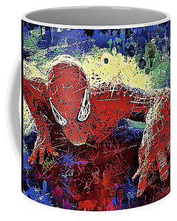 Spiderman Climbing  Coffee Mug