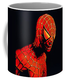 Spiderman Coffee Mug by Paul Meijering