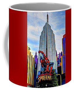 Coffee Mug featuring the photograph Spiderman by Tom Prendergast