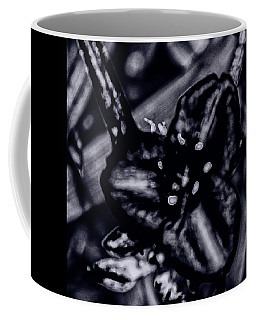 Spiderwort Shining Coffee Mug by Gina O'Brien