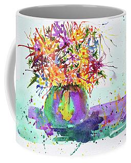 Spiked Flowers Coffee Mug