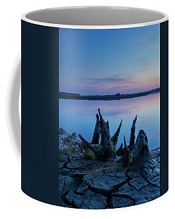 Spikes In Blue Coffee Mug