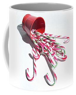Spilled Candy Canes Coffee Mug