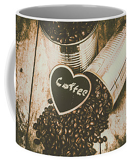Spilling The Beans Coffee Mug