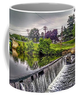 Spillway At Grace Lord Park, Boonton Nj Coffee Mug
