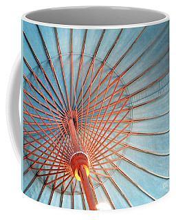 Coffee Mug featuring the photograph Spindles And Struts by Rick Locke