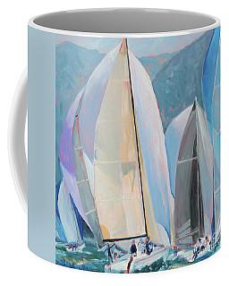 Spinnakers, Sails, Dreams Coffee Mug