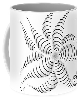 Coffee Mug featuring the drawing Spinner by Jan Steinle