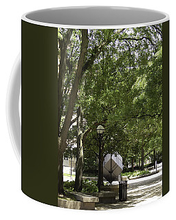 Spinning Cube On Campus Coffee Mug