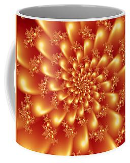 Spinning Gold Coffee Mug
