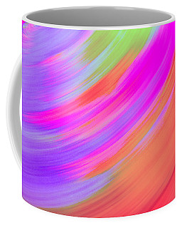 Spinning Purple To Orange Coffee Mug by Samantha Thome