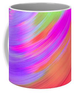 Spinning Purple To Orange Coffee Mug