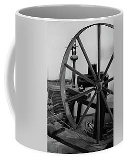 Spinning Wheel At Mount Vernon Coffee Mug