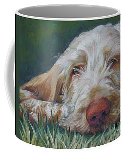 Spinone Italiano Orange Coffee Mug