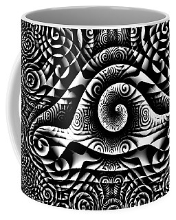 Spiral Abstract 1 Coffee Mug