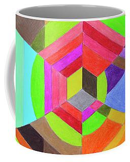 Spiral Hex Coffee Mug