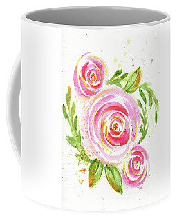 Spiral Pinks  Coffee Mug