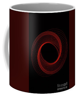 Spiral Red Coffee Mug