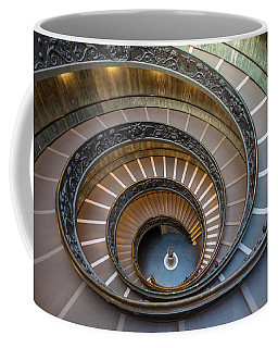Spiral Staircase In St. Peter's Basilica Coffee Mug