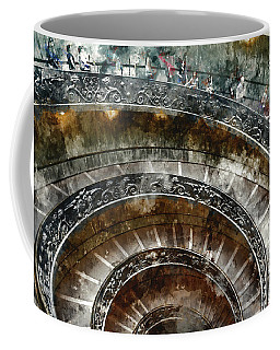 Spiral Stairs Of The Vatican Museum Coffee Mug