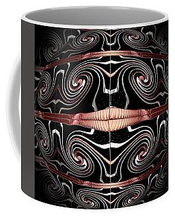 Spiral Wind Globe Coffee Mug