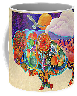 Spirit Buffaloo Totem Coffee Mug
