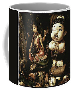 Coffee Mug featuring the photograph Spirit Cemetery. When A Business Or by Mr Photojimsf
