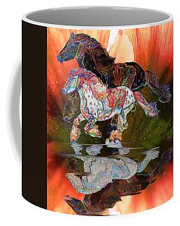 Spirit Horse II Leopard Gypsy Vanner Coffee Mug