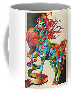 Spirit Horse Totem Coffee Mug