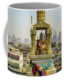 Spirit House In Bangkok Coffee Mug
