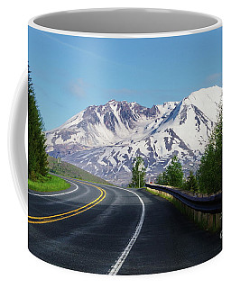 Spirit Lake Highway To Mt. St. Helens Coffee Mug