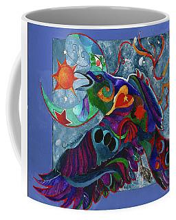 Spirit Raven Totem Coffee Mug