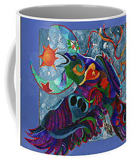 Spirit Raven Totem Coffee Mug