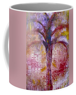 Coffee Mug featuring the painting Spirit Tree by Claire Bull